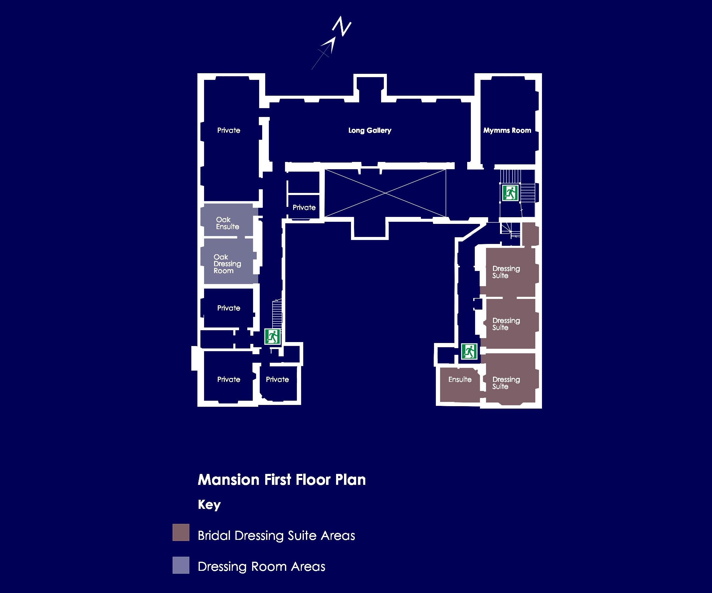 Mansion First Floor Plan