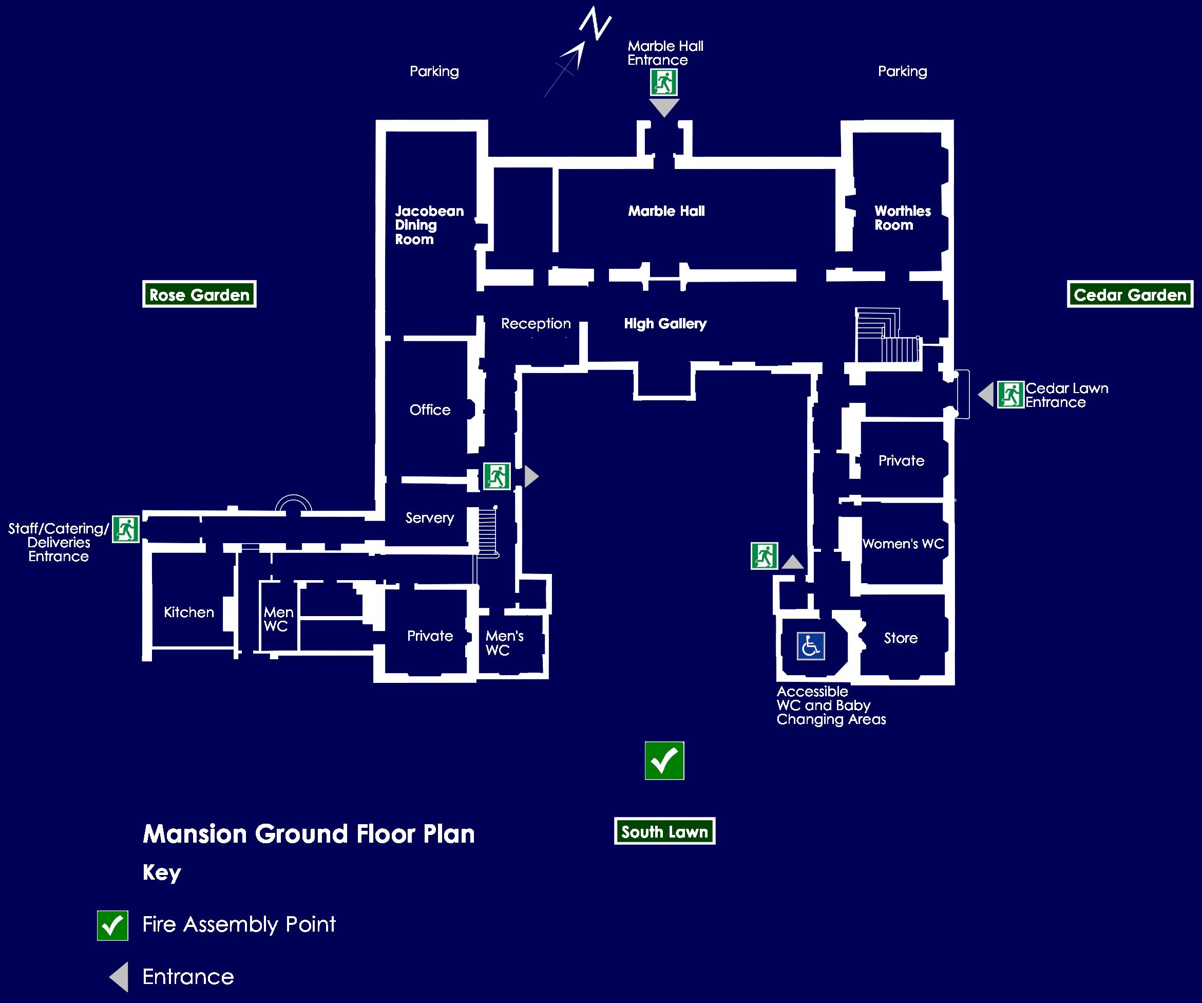 Mansion Ground Floor Plan
